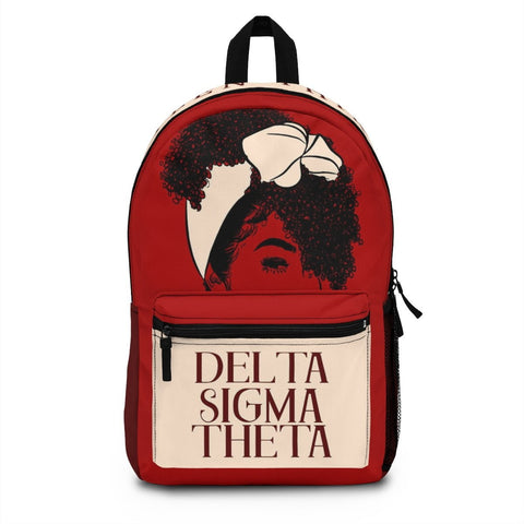 Delta Sigma Theta Made in USA Backpack