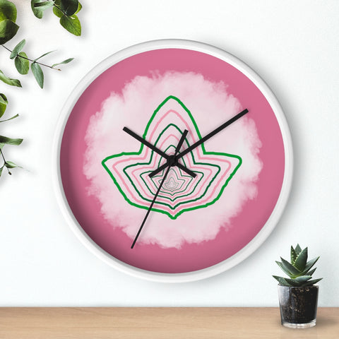 Image of Alpha Kappa Alpha Ivy Wall Clock