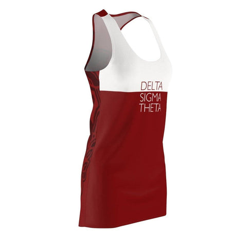 Image of Delta Sigma Theta Red Racerback Dress