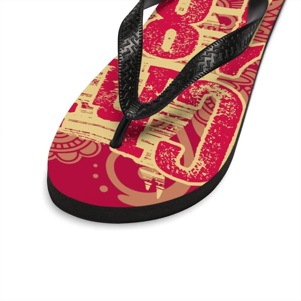 Unisex Flip-Flops - Unique Greek Store