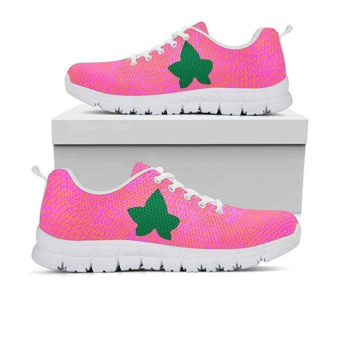 Image of Alpha Kappa Alpha Logo Sneakers - Unique Greek Store