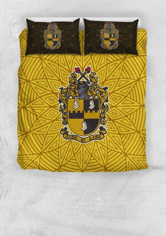 Image of Alpha Phi Alpha Bedding Set - Unique Greek Store
