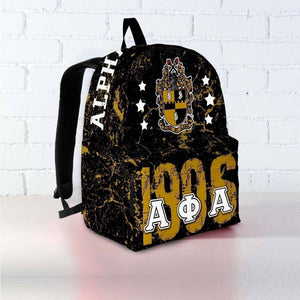 Alpha Phi Alpha Founding Year Backpack - Unique Greek Store