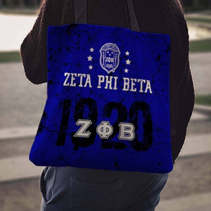 Zeta Phi Beta Founding Year Tote Bags - Unique Greek Store