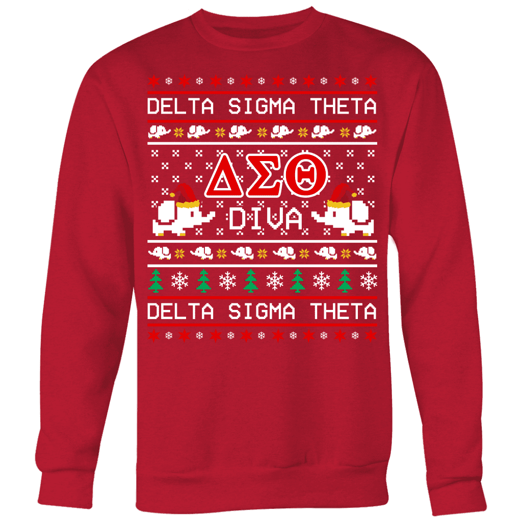 Delta Sigma Theta Ugly Sweaters - Unique Greek Store