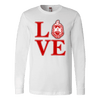Delta Sigma Theta LOVE Design Long Sleeve - Unique Greek Store