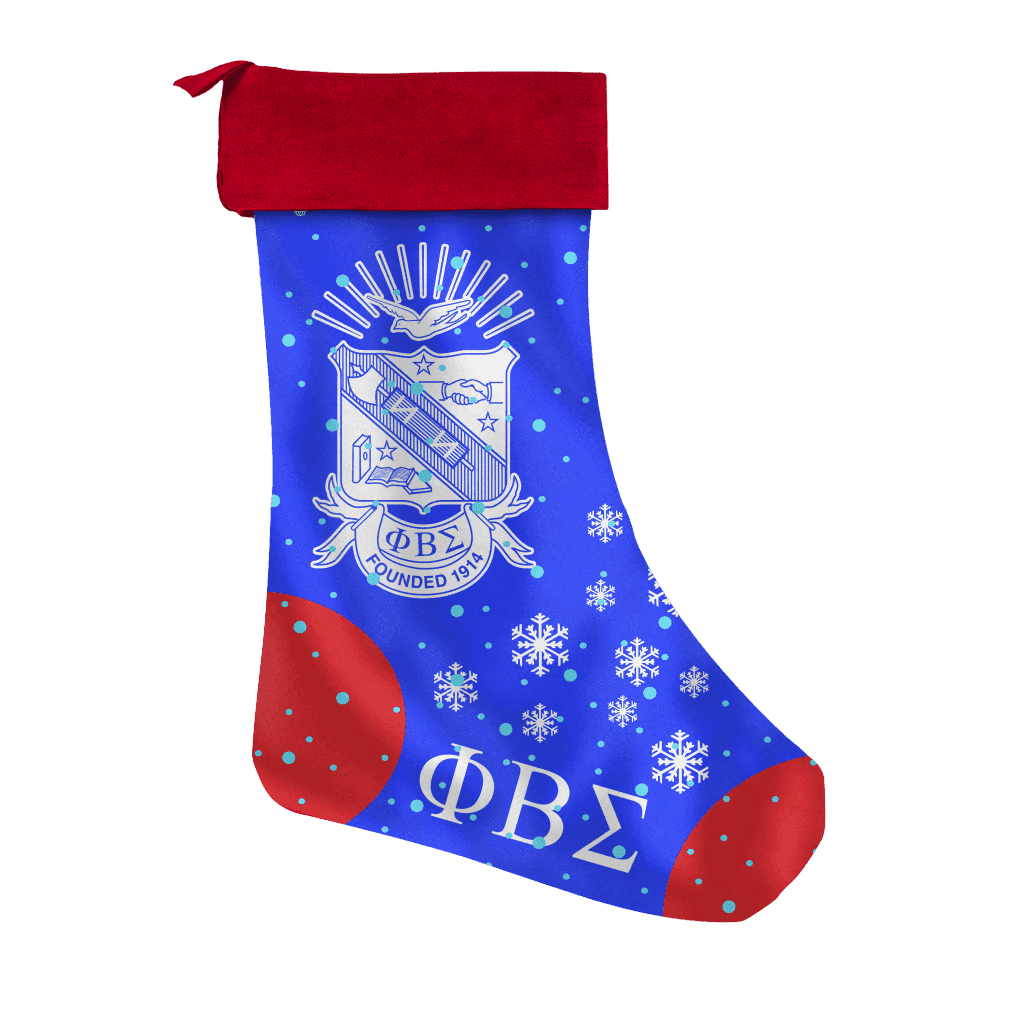Phi Beta Sigma Christmas Stocking - Unique Greek Store