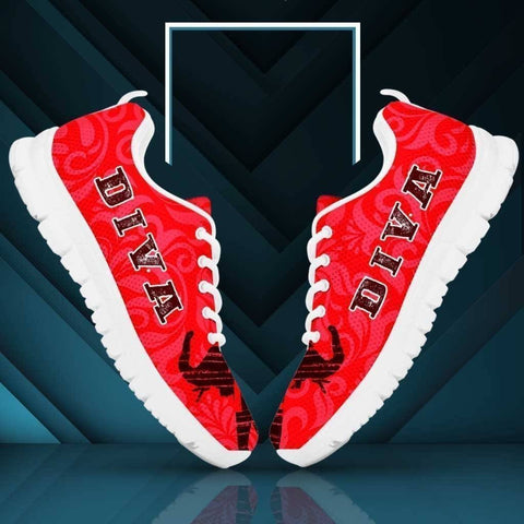 Delta Sigma Theta Sneakers - Unique Greek Store