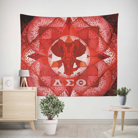 Image of Delta Sigma Theta Tapestry - Unique Greek Store