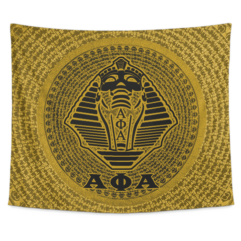 Image of Alpha Phi Alpha Tapestry - Unique Greek Store