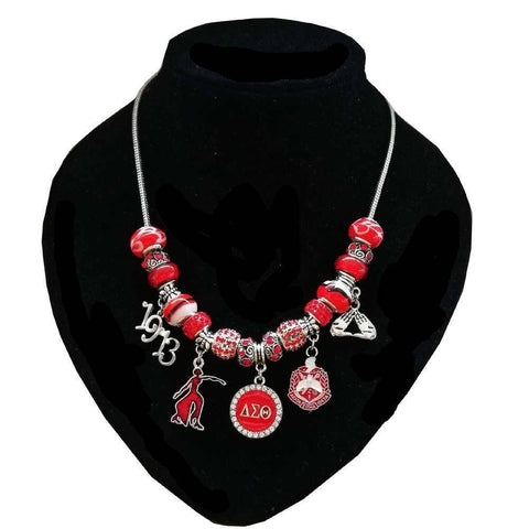 Image of Delta Sigma Theta Palm Sign Jewelry Set