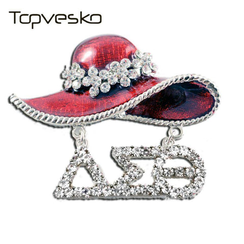 Image of Delta Sigma Theta Hat Pin - Unique Greek Store