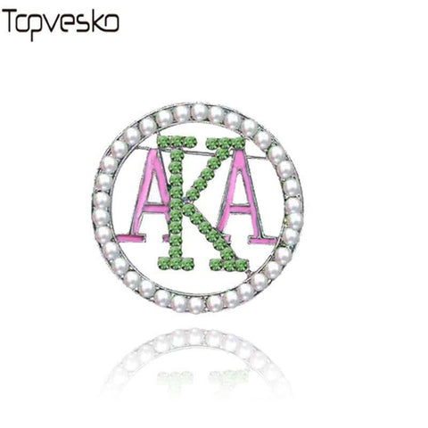 Alpha Kappa Alpha Brooches Pin - Unique Greek Store