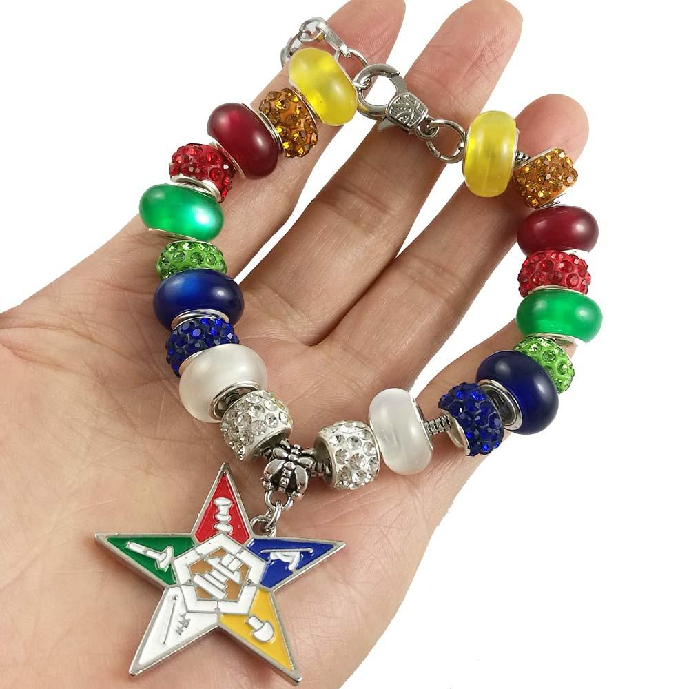 Order of the Eastern Star Charm Jewelry Bracelet