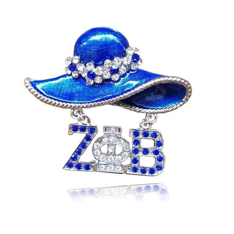 Image of Zeta Phi Beta Hat Pin - Unique Greek Store