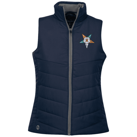 Image of Order Of The Eastern Star Quilted Vest - Unique Greek Store
