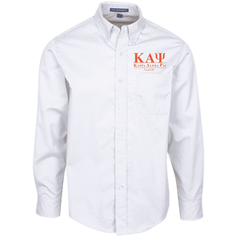 Kappa Alpha Psi Long Sleeve Dress Shirt - Unique Greek Store
