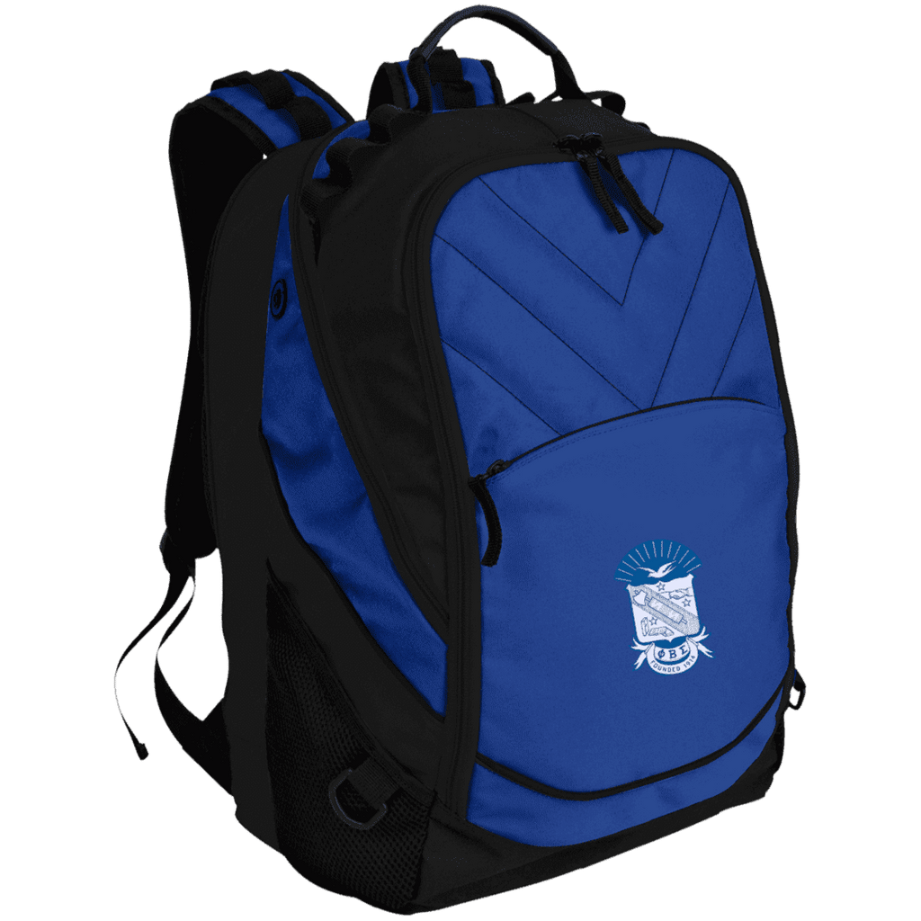 Phi Beta Sigma Laptop Computer Backpack - Unique Greek Store