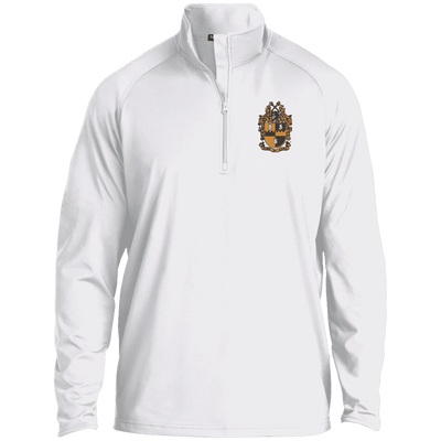 Alpha Phi Alpha 1/2 Zip Raglan Performance Pullover - Unique Greek Store