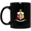 Kappa Alpha Psi 11 oz. Black Mug - Unique Greek Store