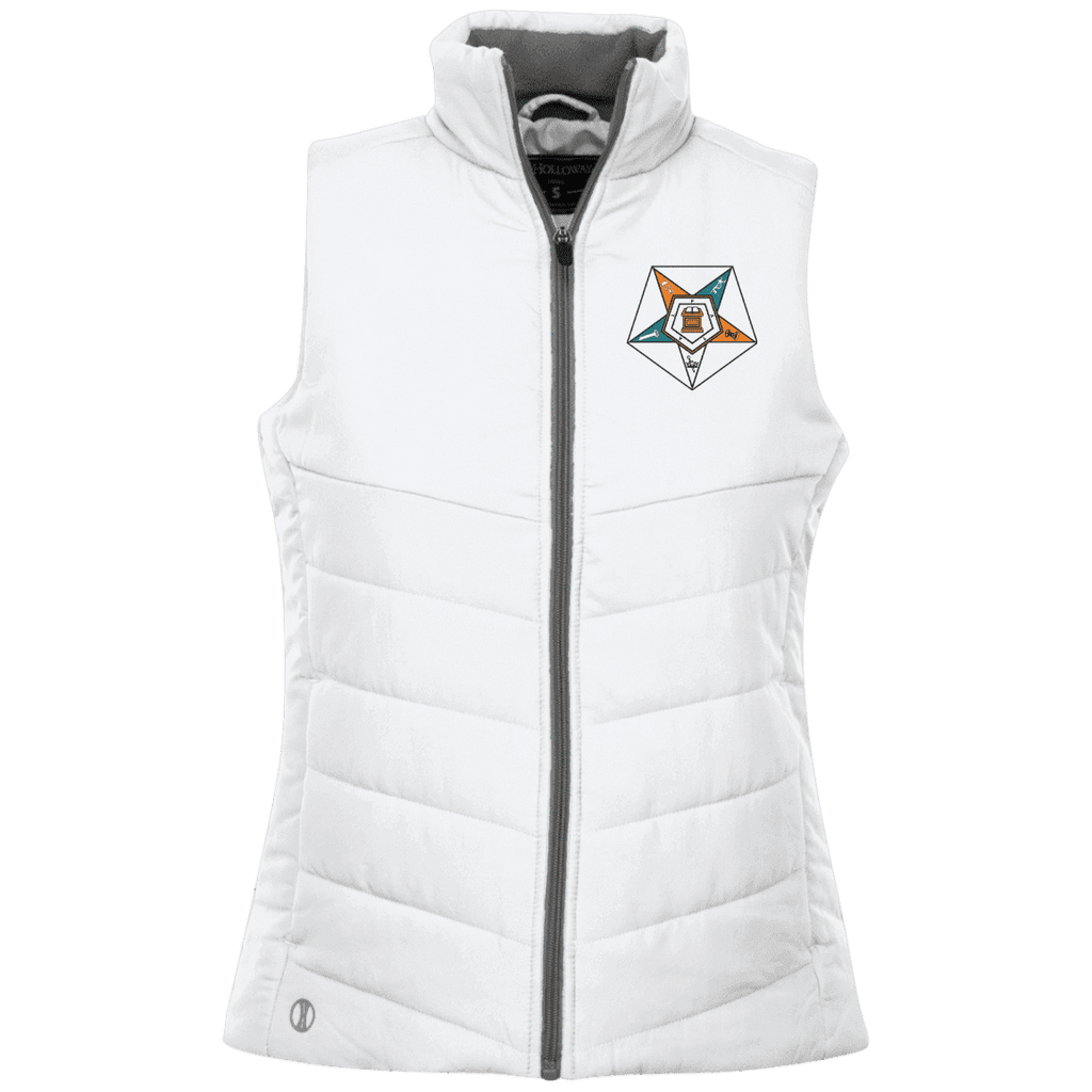 Order Of The Eastern Star Quilted Vest - Unique Greek Store