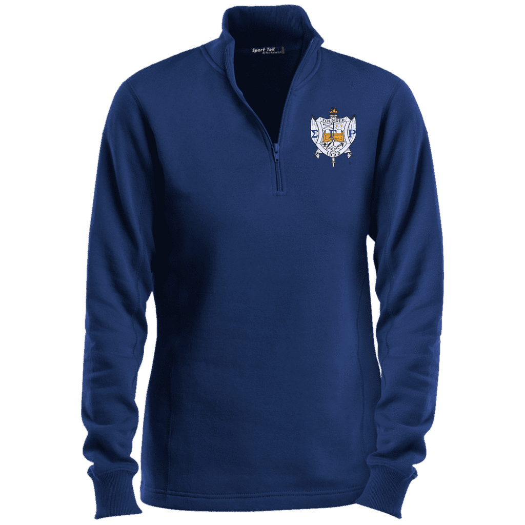 Sigma Gamma Rho 1/4 Zip Sweatshirt - Unique Greek Store