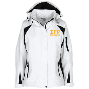 Sigma Gamma Rho Ladies Custom Embroidered Jacket - Unique Greek Store