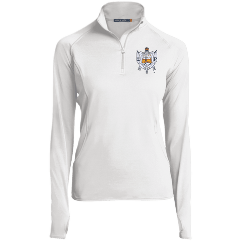 Image of Sigma Gamma Rho 1/2 Zip Performance Pullover - Unique Greek Store