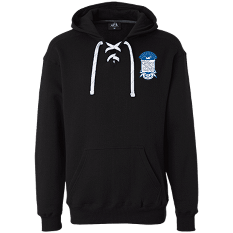 Phi Beta Sigma Heavyweight Sport Lace Hoodie - Unique Greek Store