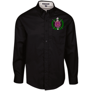 Omega Psi Phi LS Dress Shirt - Unique Greek Store