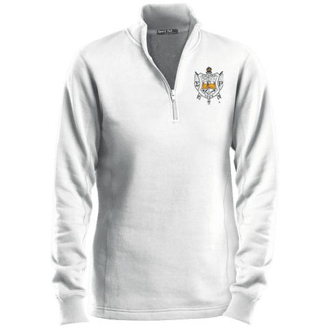 Image of Sigma Gamma Rho 1/4 Zip Sweatshirt - Unique Greek Store