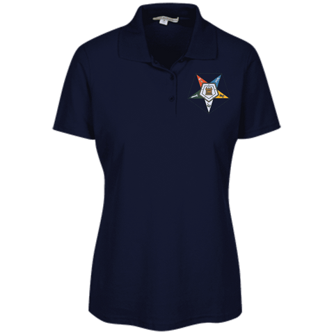 Order Of The Eastern Star Embroidered Stain Resistant Sport Shirt - Unique Greek Store