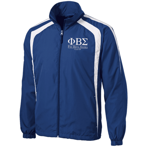 Image of Phi Beta Sigma Tall Jersey-Lined Jacket - Unique Greek Store