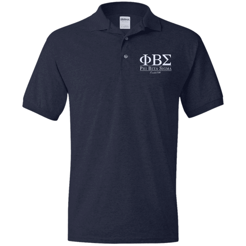 Phi Beta Sigma Jersey Polo - Unique Greek Store