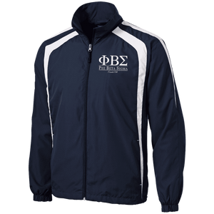 Phi Beta Sigma Tall Jersey-Lined Jacket - Unique Greek Store