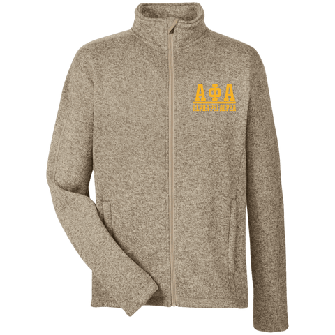 Alpha Phi Alpha Men's Full Zip Sweater Fleece - Unique Greek Store