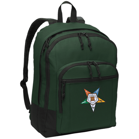 Image of Order Of The Eastern Star Basic Backpack - Unique Greek Store