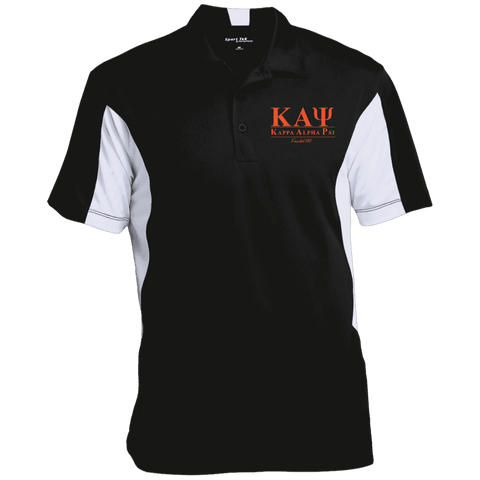 Image of Kappa Alpha Psi Performance Polo - Unique Greek Store