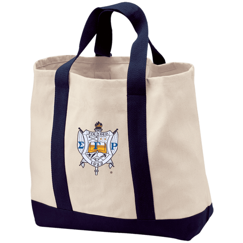 Image of Sigma Gamma Rho Shopping Tote - Unique Greek Store