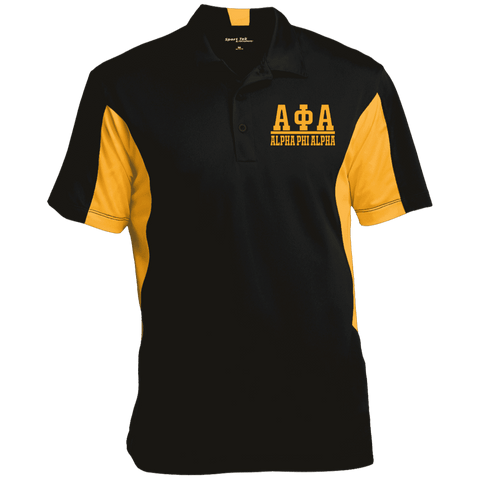 Image of Alpha Phi Alpha Performance Polo - Unique Greek Store