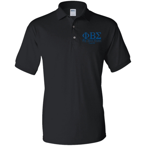 Phi Beta Sigma Jersey Polo Shirt - Unique Greek Store