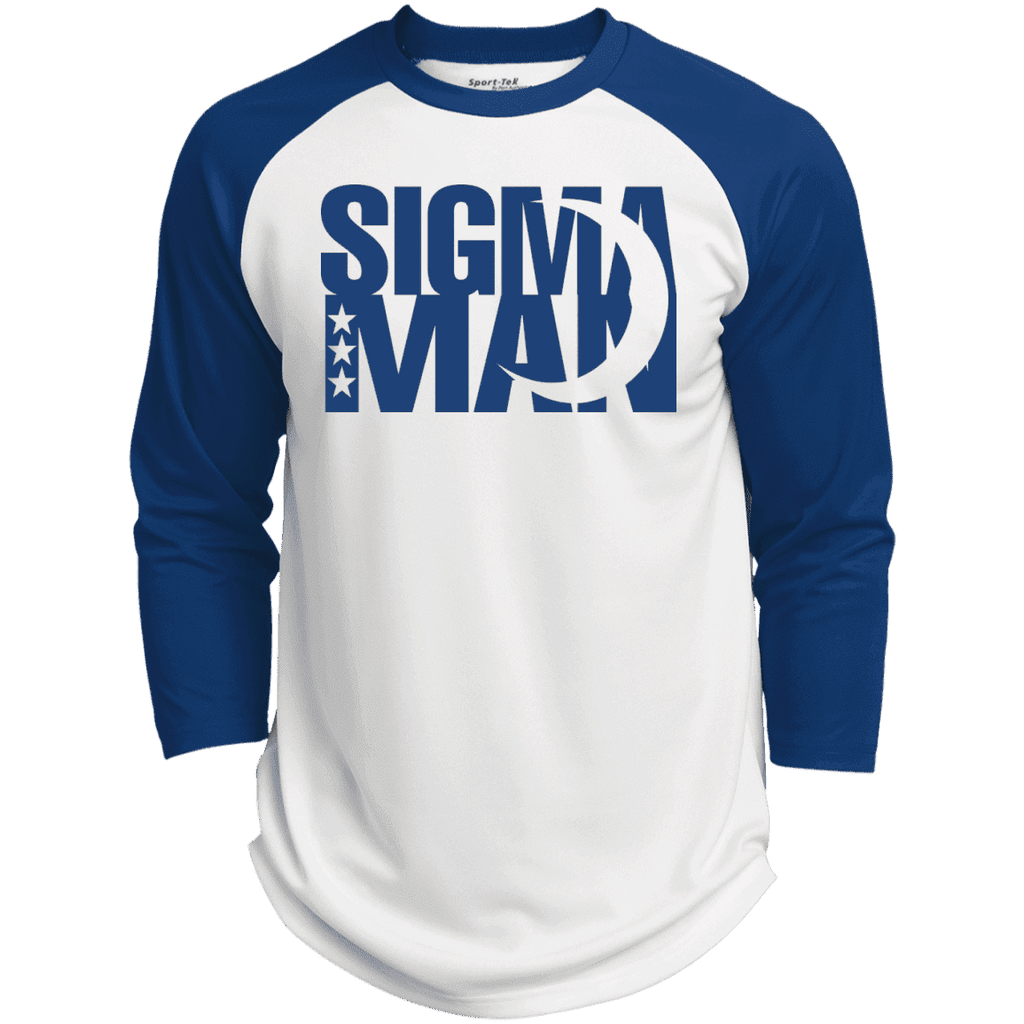 Phi Beta Sigma Man Raglan - Unique Greek Store