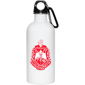 Delta Sigma Theta 20 oz. Stainless Steel Water Bottle - Unique Greek Store