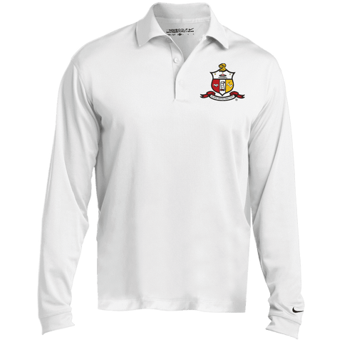 Image of Kappa Alpha Psi Nike Long Sleeve Polo - Unique Greek Store