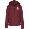 Delta Sigma Theta Jersey-Lined Hooded Windbreaker - Unique Greek Store