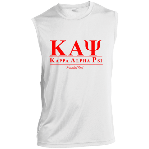 Image of Kappa Alpha Psi Sleeveless Performance T Shirt - Unique Greek Store