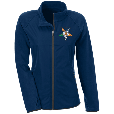 Order Of The Eastern Star Microfleece with Front Polyester Overlay - Unique Greek Store