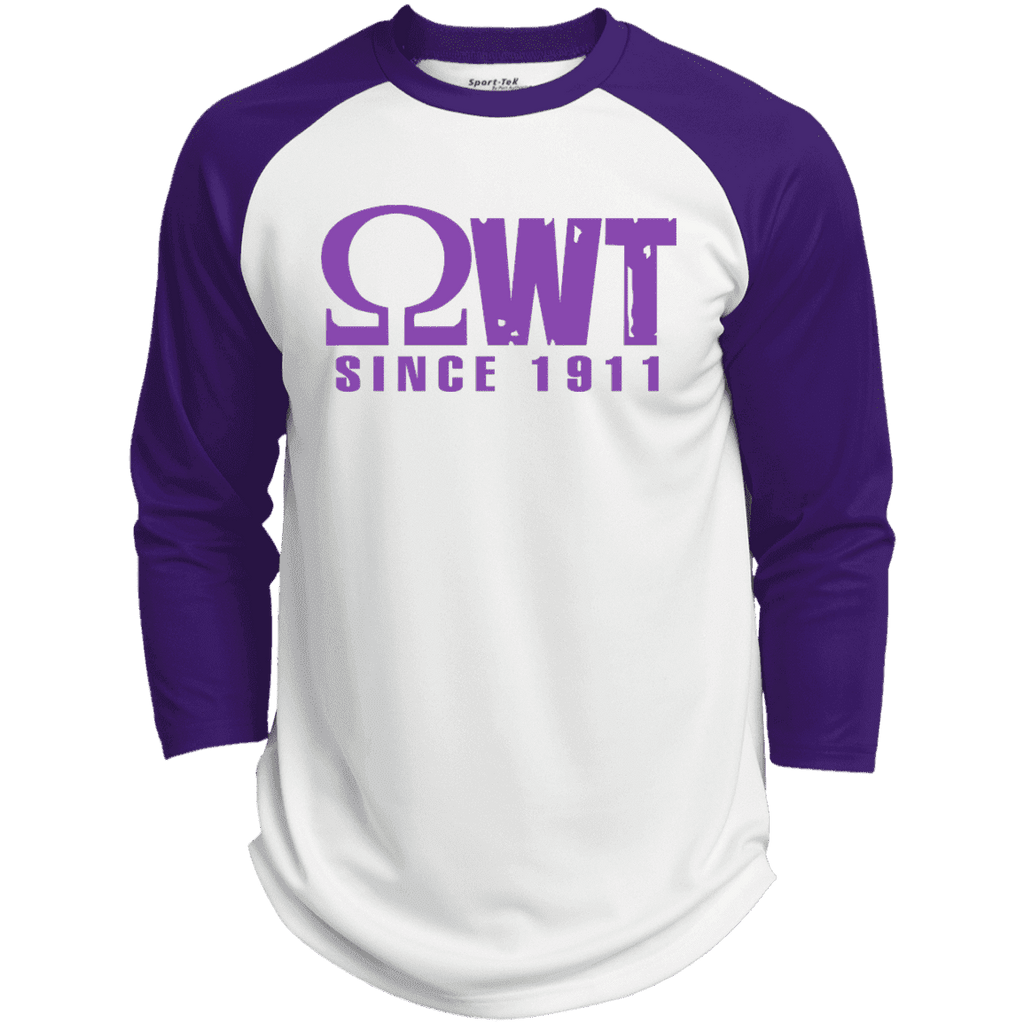 Omega Psi Phi Baseball Tee - Unique Greek Store