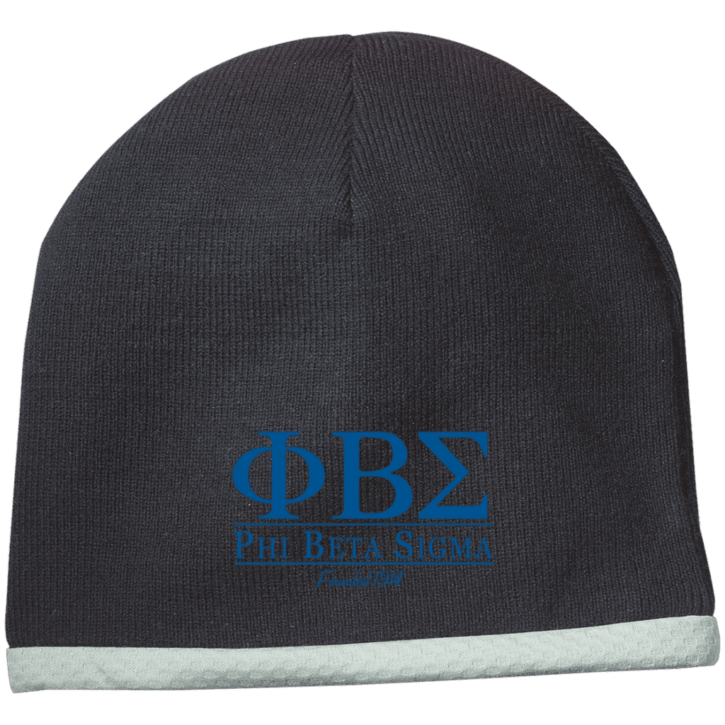 Phi Beta Sigma Performance Knit Cap - Unique Greek Store