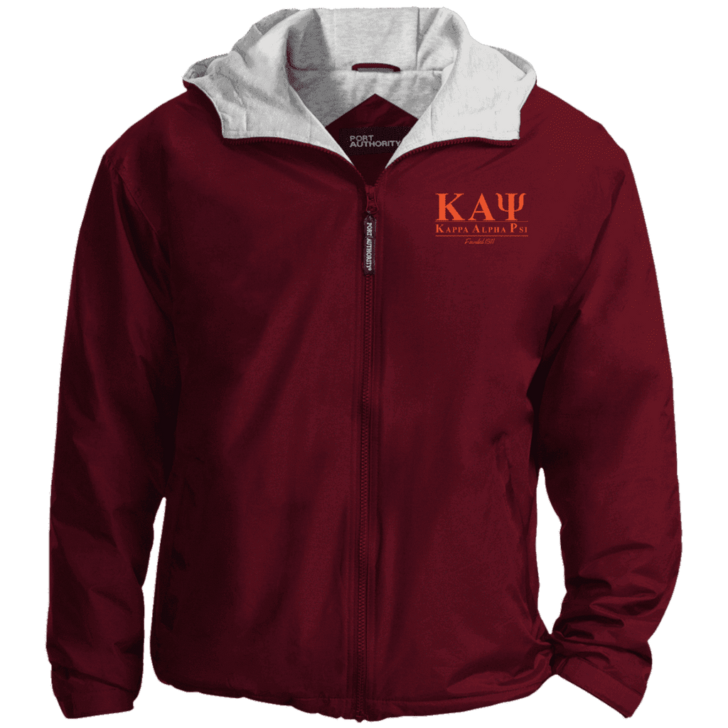 Kappa Alpha Psi Embroidered Team Jacket - Unique Greek Store